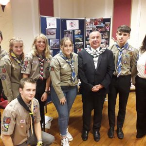 The Mayor attended the Mid Glamorgan Scouts Council Annual General Meeting.